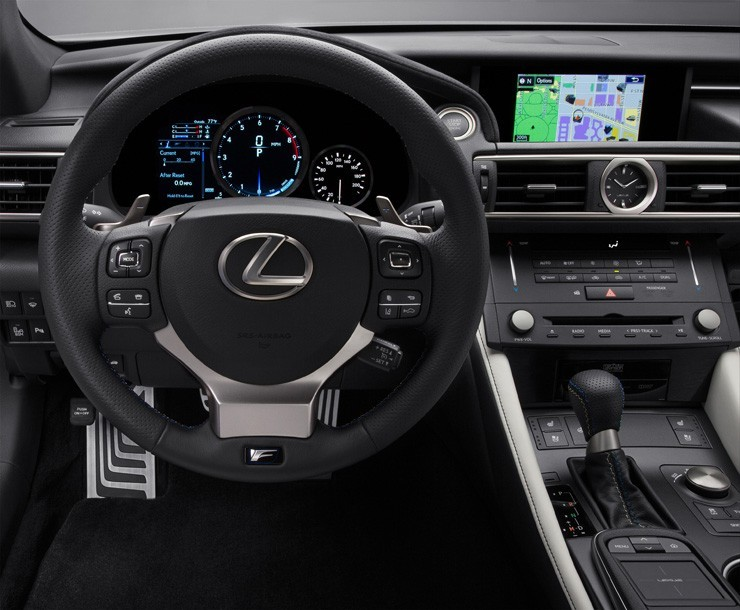 Lexus Debuts 2015 RC F Performance Coupe