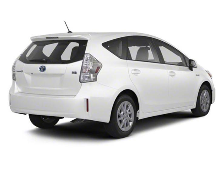 2013 Toyota Prius V Three Model Review - Not Your Father's Hatchback Wagon