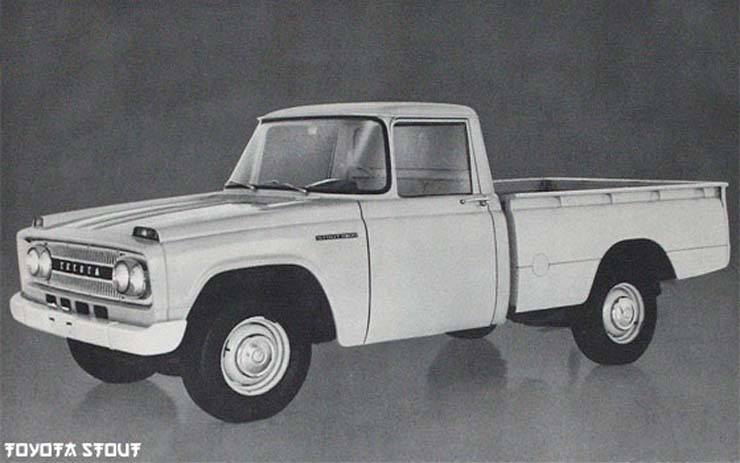 Toyota Light Duty Truck History - Stout, Tacoma