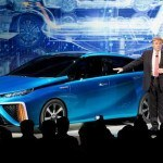 Toyota Reveals FCV fuel-cell concept at 2014 Consumer Electronics Show