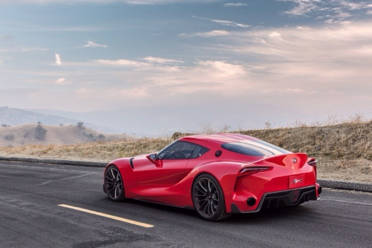Toyota FT-1 Concept Debuts - road view