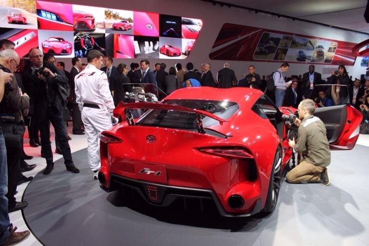 Toyota FT-1 Concept Debuts - Rear