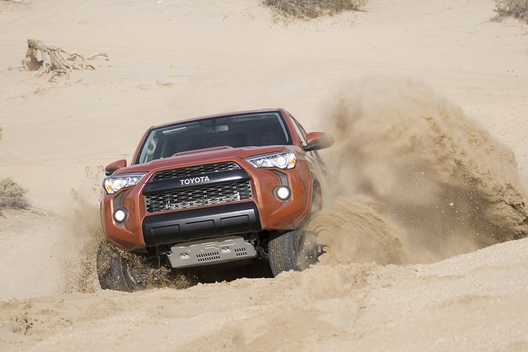 Toyota Unveils New TRD Pro Off-Road Packages - Tundra, Tacoma and 4Runner
