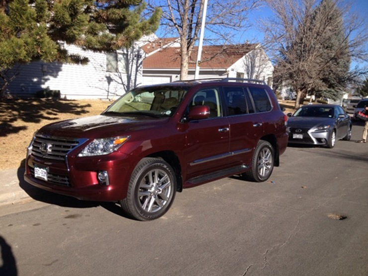 2014 Lexus LX 570 Review