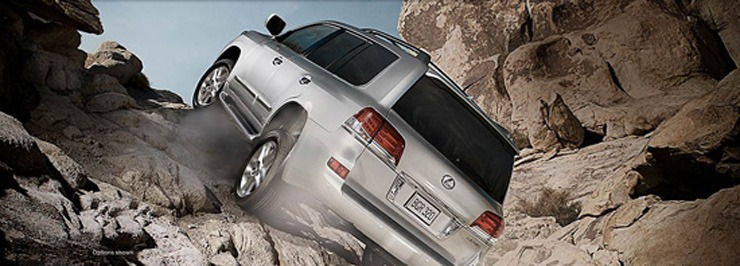 2014 Lexus LX 570 Review - Off-Road