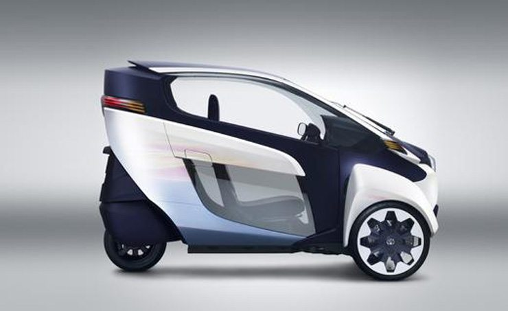 Toyota i-ROAD Concept Unveiled in Geneva - Profile