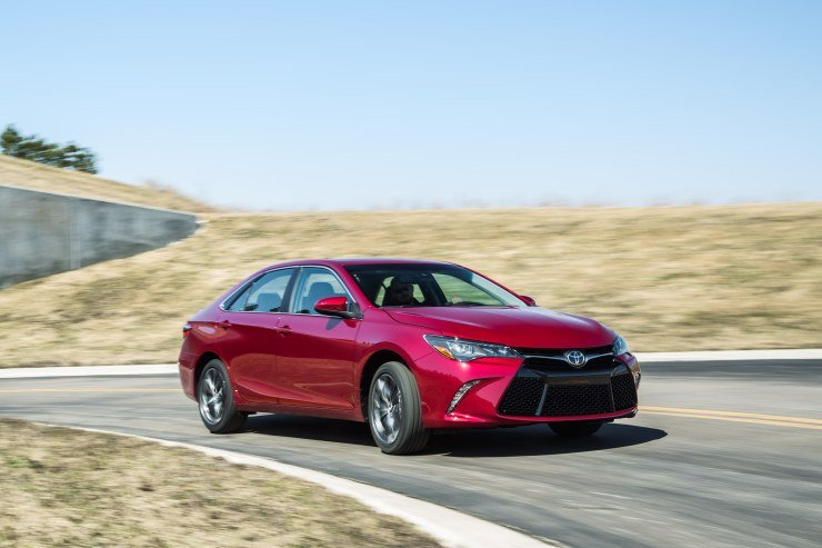 2015 Camry right front