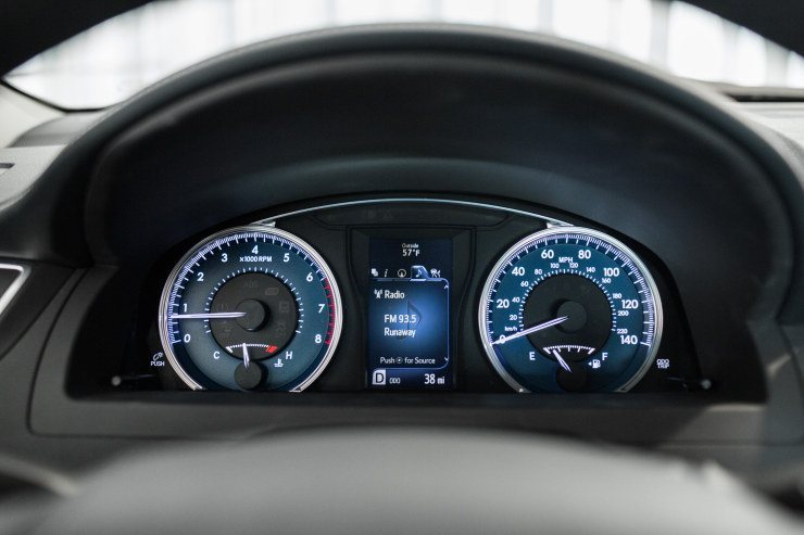 2015 Camry instrument cluster