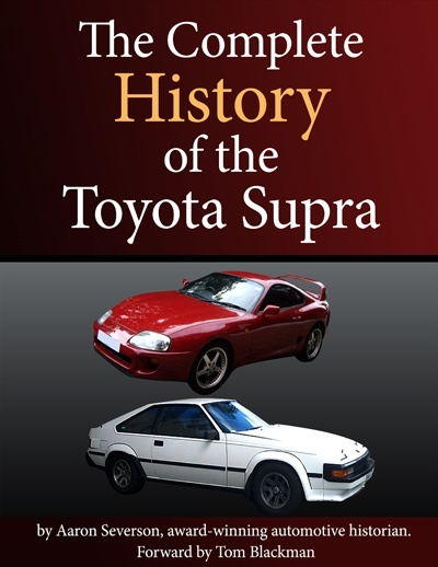Toyota parts complete history of the toyota supra book now available complete history of the toyota supra book now available fandeluxe Images
