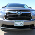 2014 Toyota Highlander Limited Review - Front Grille