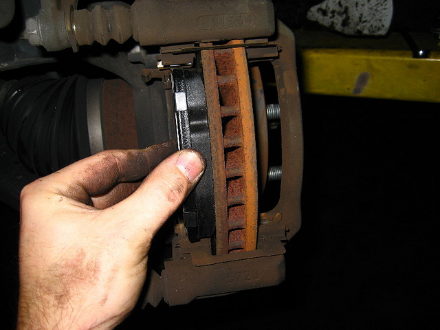 Toyota Front Brake Pad Replacement - 04465-35290