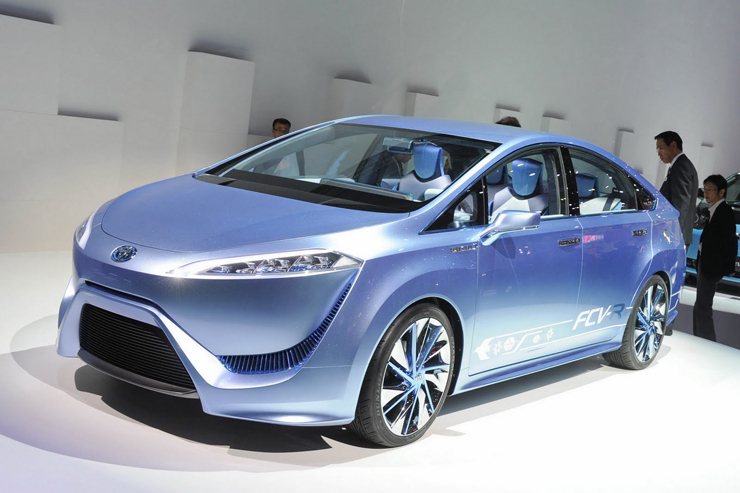 Toyota Fuel Cell Vehicle Begins US Tour - San Francisco First Stop