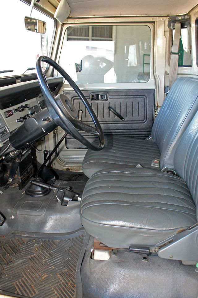 1980 Land Cruiser Seats