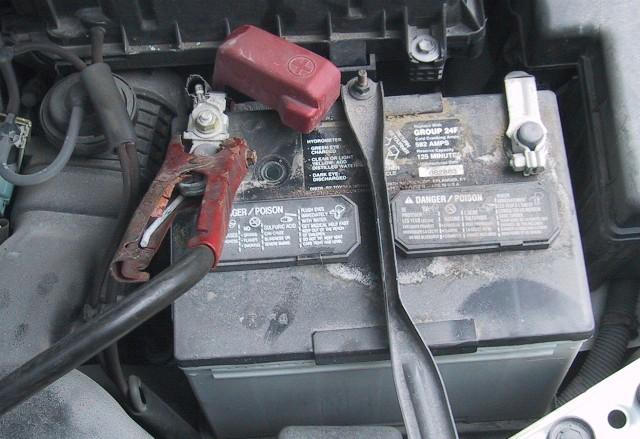 toyota yaris 2004 battery