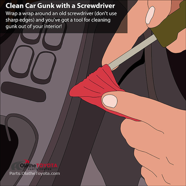 Screwdriver gunk hack