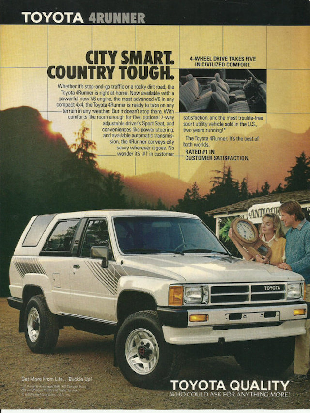 Smart Tough 4Runner ad
