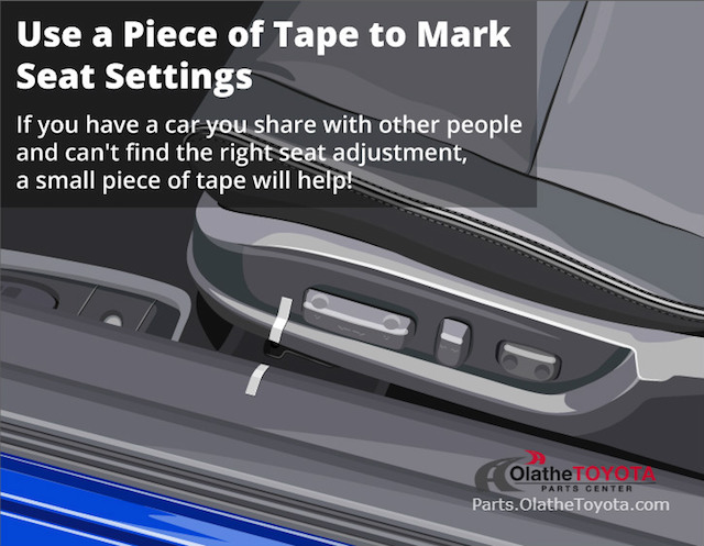 Tape mark seat hack