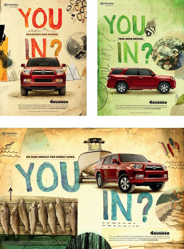 You In 4Runner ad