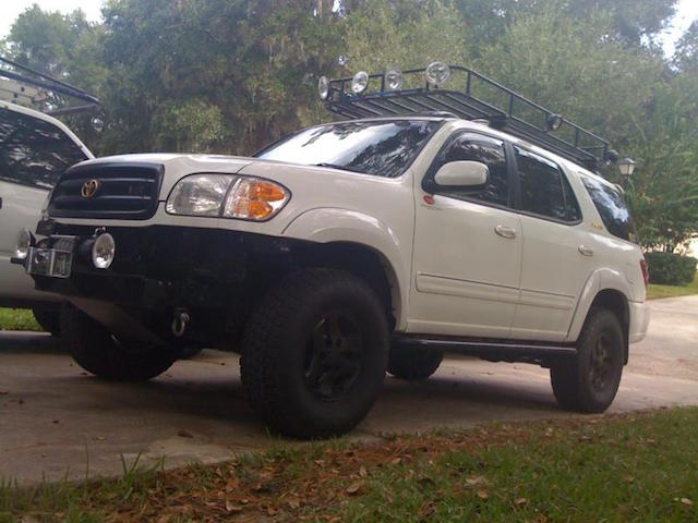 Lifted Sequoia 5
