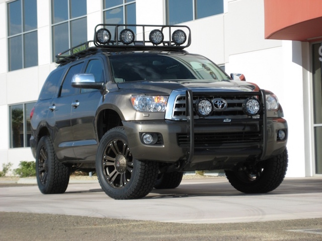 Lifted Sequoia 6