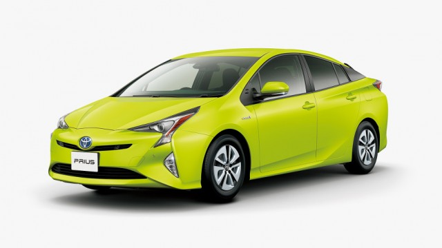 Thermo-Tech Lime Green Prius