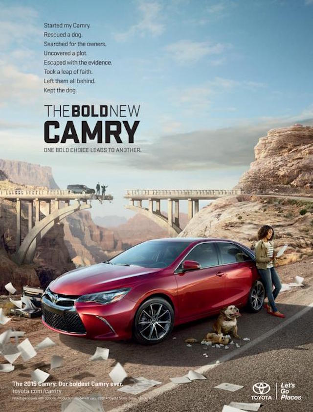 Best Camry ad 1