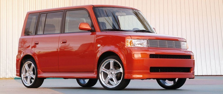 2004 Scion xB Release Series 1.0: Hot Lava