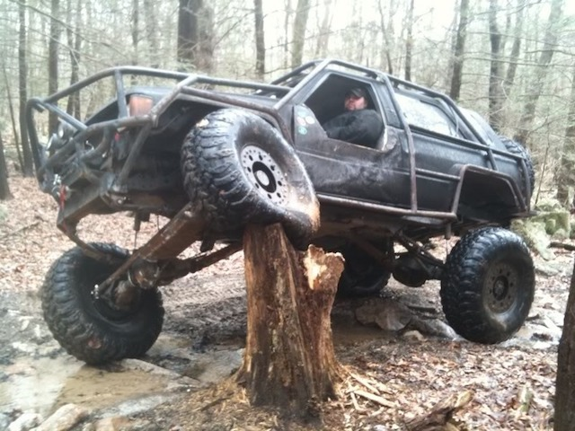 Tree stump 4runner