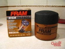Fram High Mileage Tacoma Oil Filter