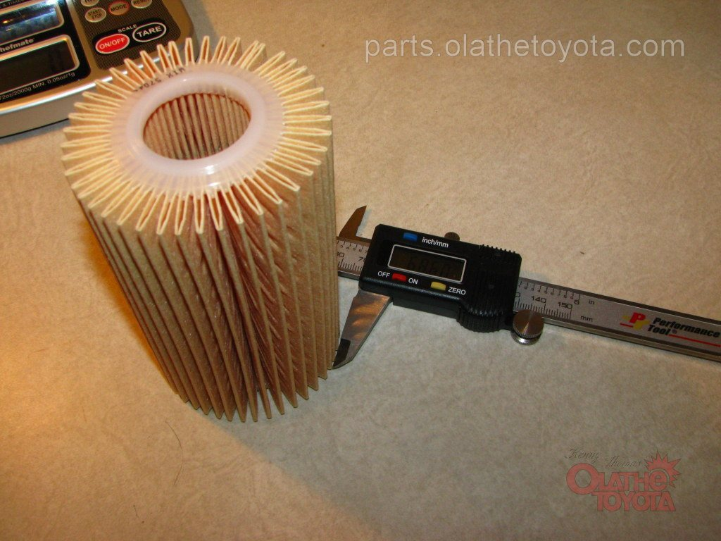 Toyota parts oil filter comparison tundra oem filter vs fram wix filter wix filter nvjuhfo Image collections