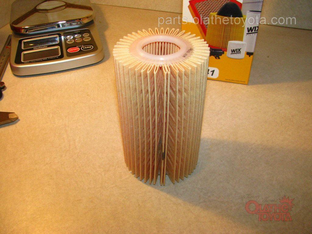 Toyota parts oil filter comparison tundra oem filter vs fram wix filter nvjuhfo Image collections