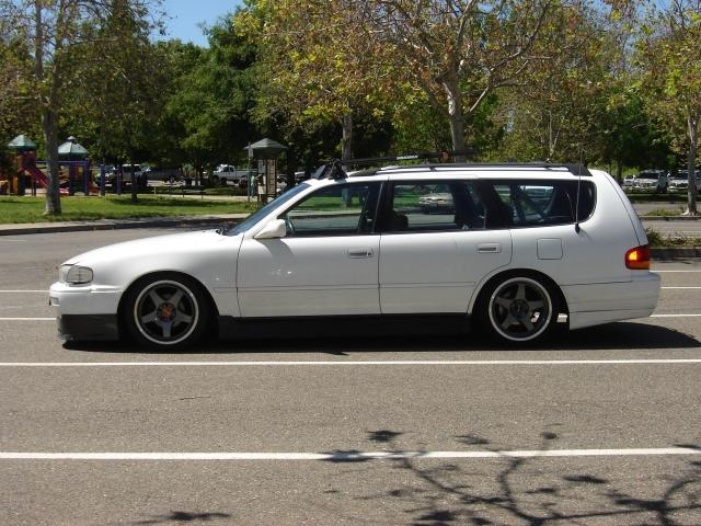 Modded camry wagon2