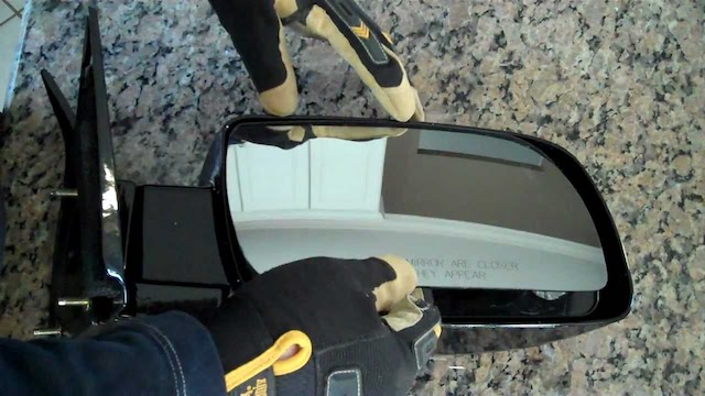 Replacing camry mirror
