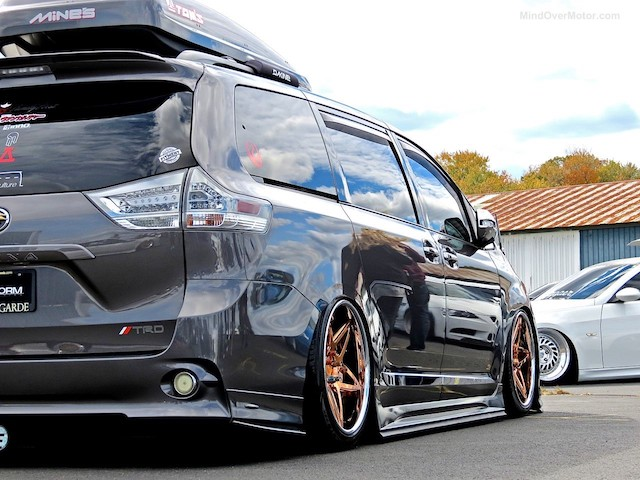 Riding Low 5 Awesome Stanced Siennas