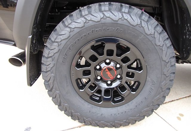 Oversize tires