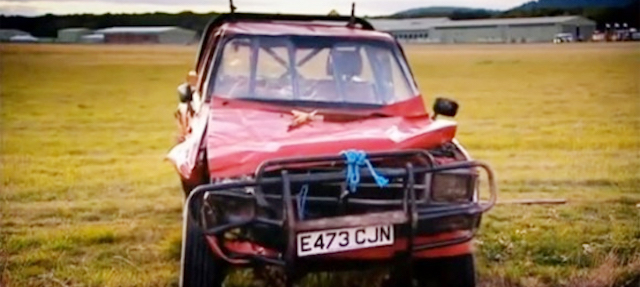 Top gear hilux