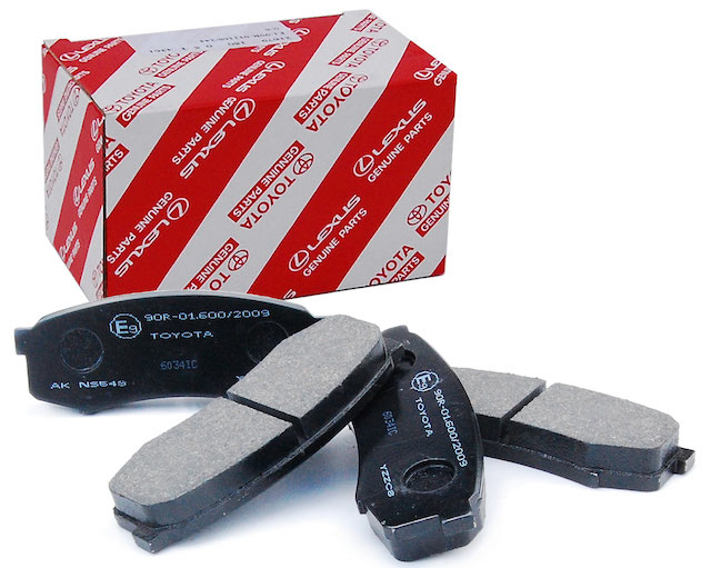 Toyota brake pad set
