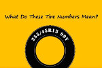 What do tire numbers mean?