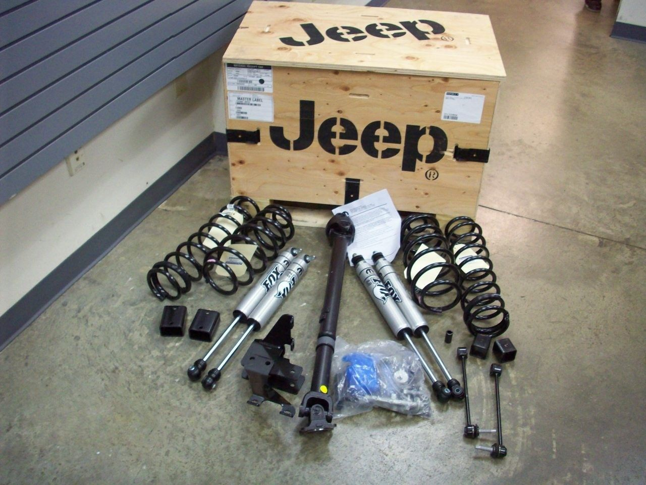 Lift Kit - 2 Inch Lift Kit (3.6L Engine)