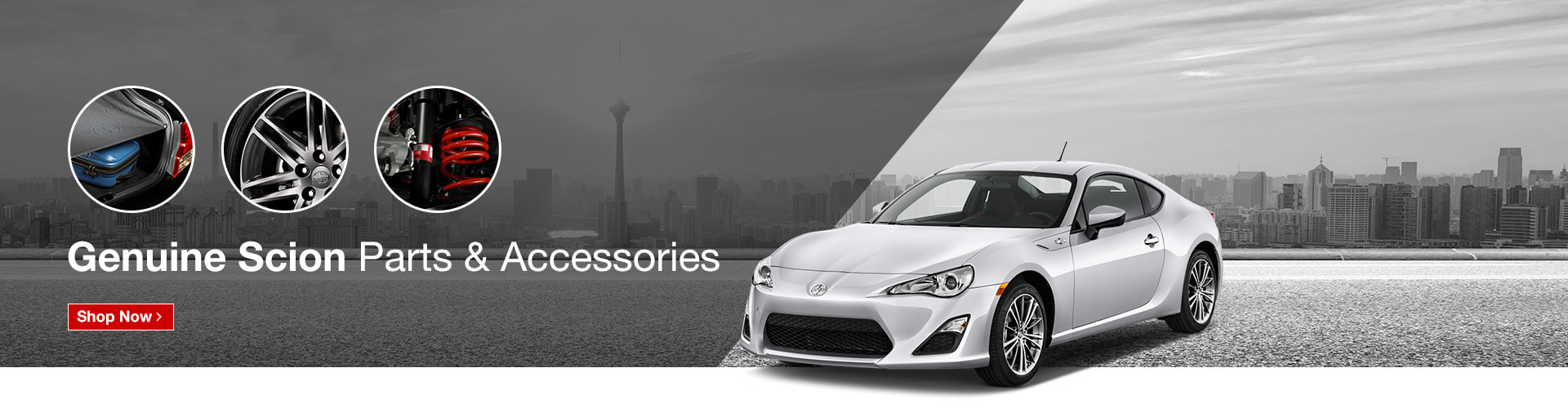 Genuine Scion Parts & Accessories