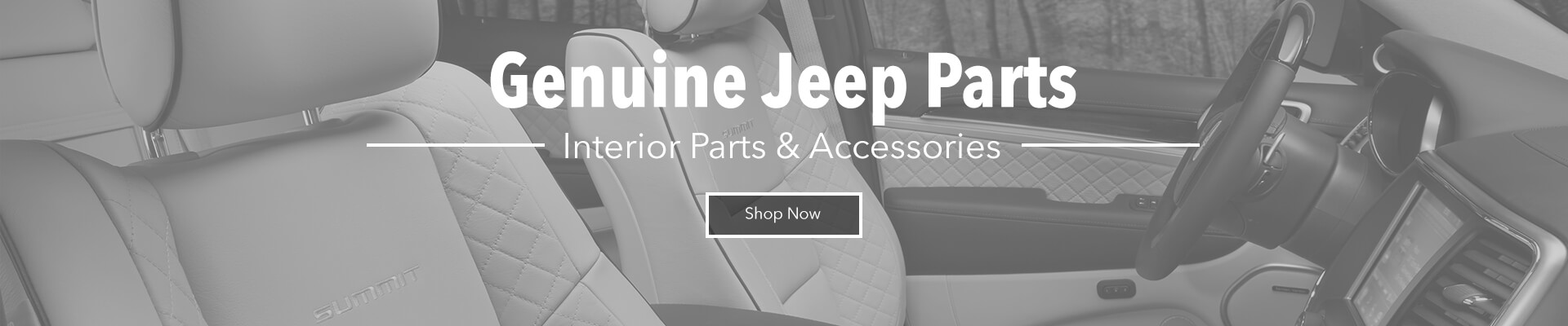 Genuine Jeep Interior Parts & Accessories