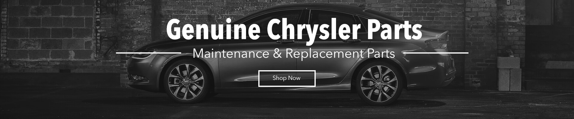 OEM Chrysler Maintenance Parts