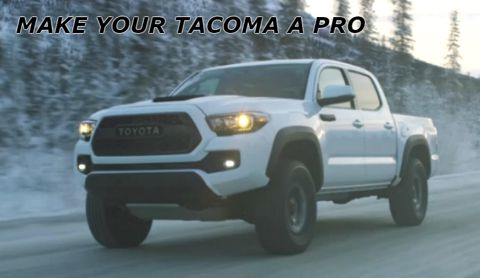 Tacoma Pro Parts