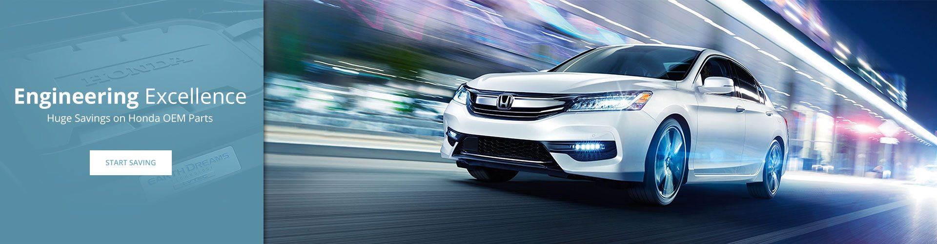 Save on Genuine Honda parts and accessories
