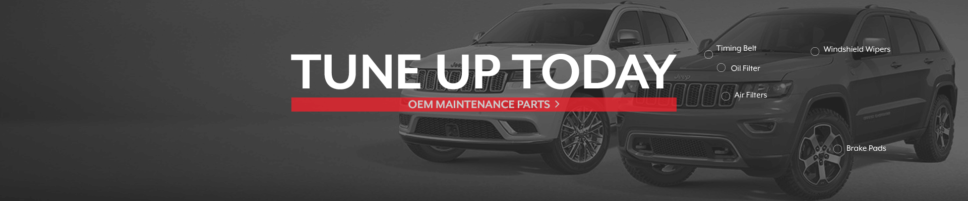 Genuine Jeep Maintenance Parts