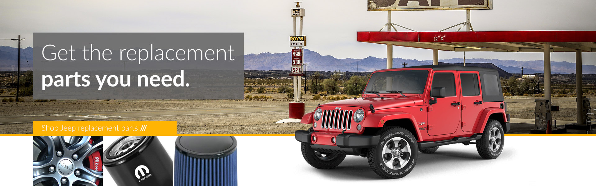 Jeep genuine replacement parts