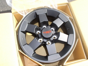 TRD TRAIL TEAMS 16 INCH WHEEL - MATTE BLACK