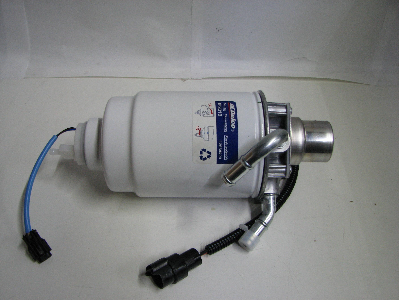 Gm 12642623 Fuel Filter 59 Cummins Housing Wiring 2001 Duramax Genuine Diesel Complete Assembly