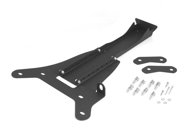 Third Brake Light Extension Kit; 07-16 Jeep Wrangler JK - Rugged Ridge