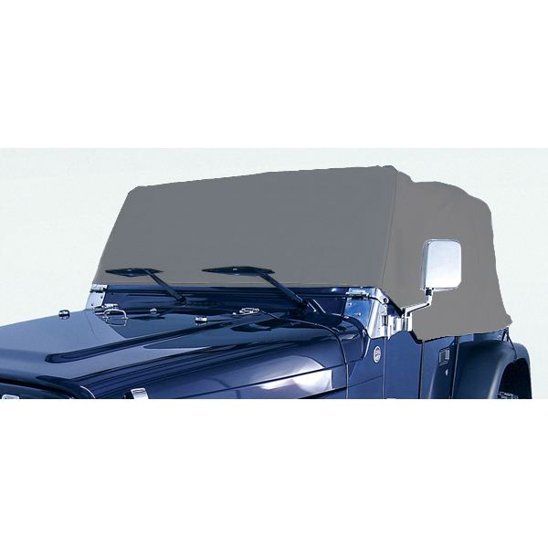 Deluxe Cab Cover; 76-06 Jeep CJ/Wrangler YJ/TJ - Rugged Ridge